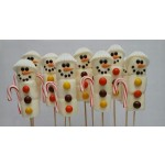 12 Brochetas Marshmallow Snow